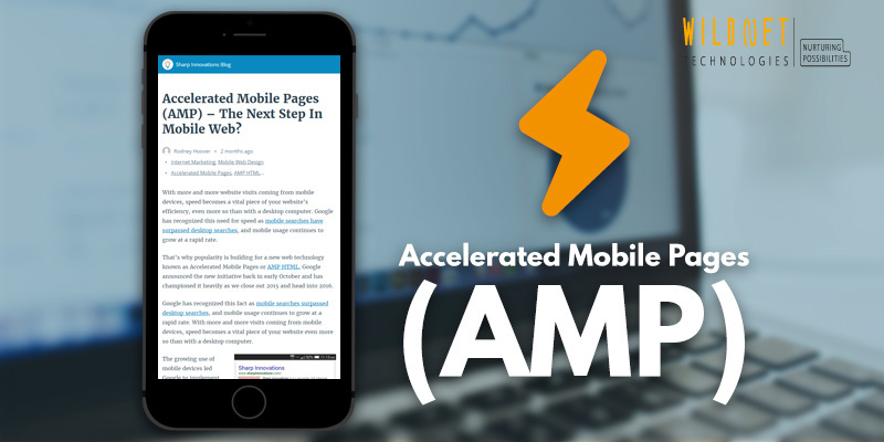 Accelerated Mobile Pages : A New Approach to Web Performance.