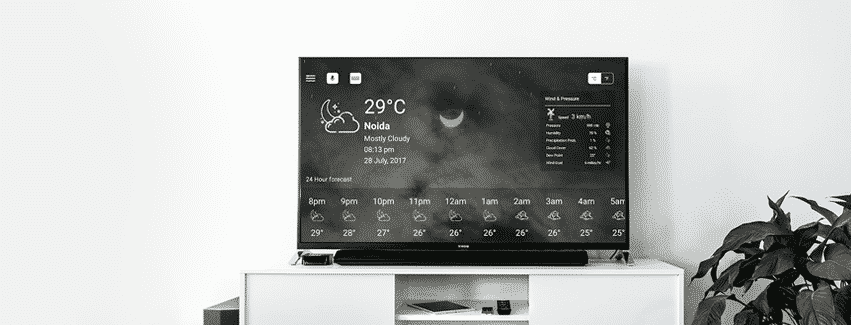 Android TV Weather App