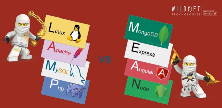 LAMP Vs MEAN Stack, which one is best for your web application?
