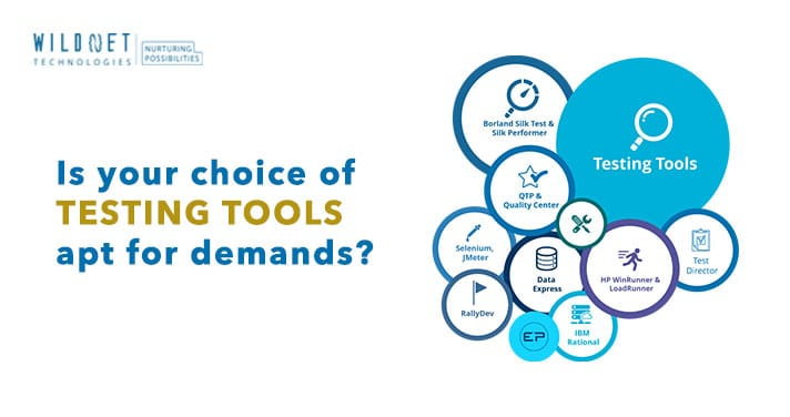 Is your choice of Testing Tools apt for demands?