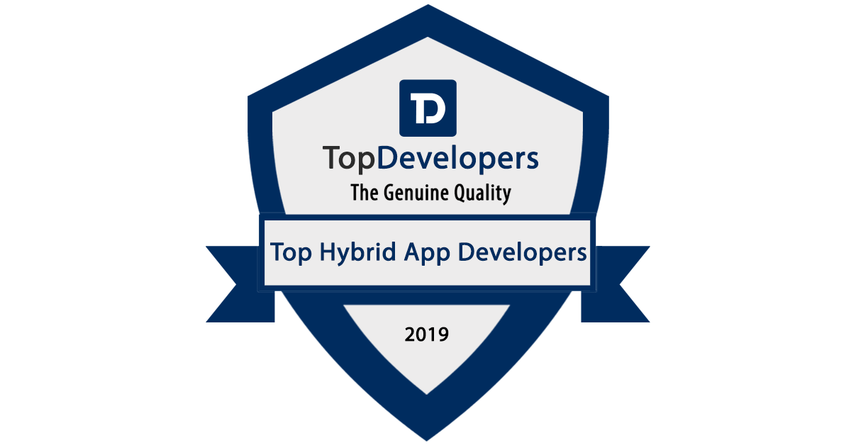 Wildnet Technologies is announced as a Top Hybrid App Development Company!